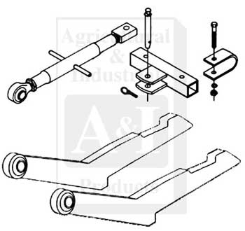 2-pt Hitch Conversion Kit