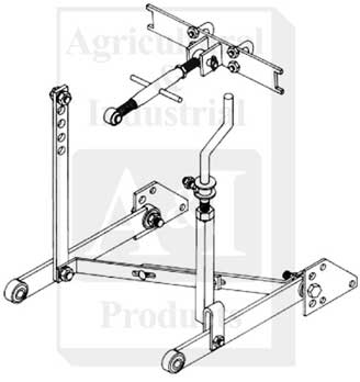 3-pt Hitch, FD, Cat I