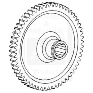 Ind. PTO Driven Gear