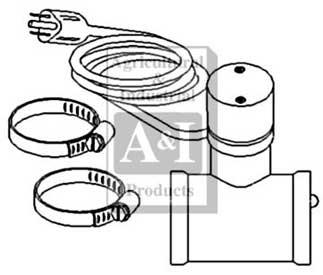 Lower Radiator Hose Heater