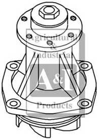 Water Pump w/ Hub