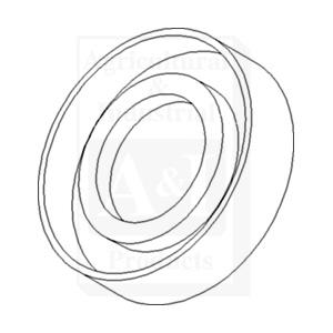 Seal, Rear PTO Shaft