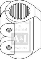 Coupling, 4WD Transfer Gearbox, 24 Spline, APL335