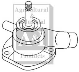 Re-Mfg Water Pump w/o Pulley (R&R Only)