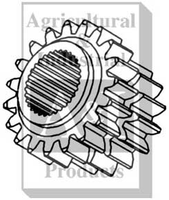 Sliding Gear (1st-2nd & 5th-6th)