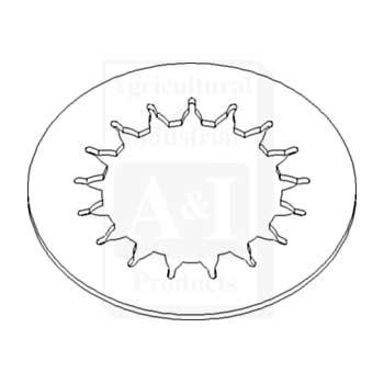 PTO Clutch Driven Plate