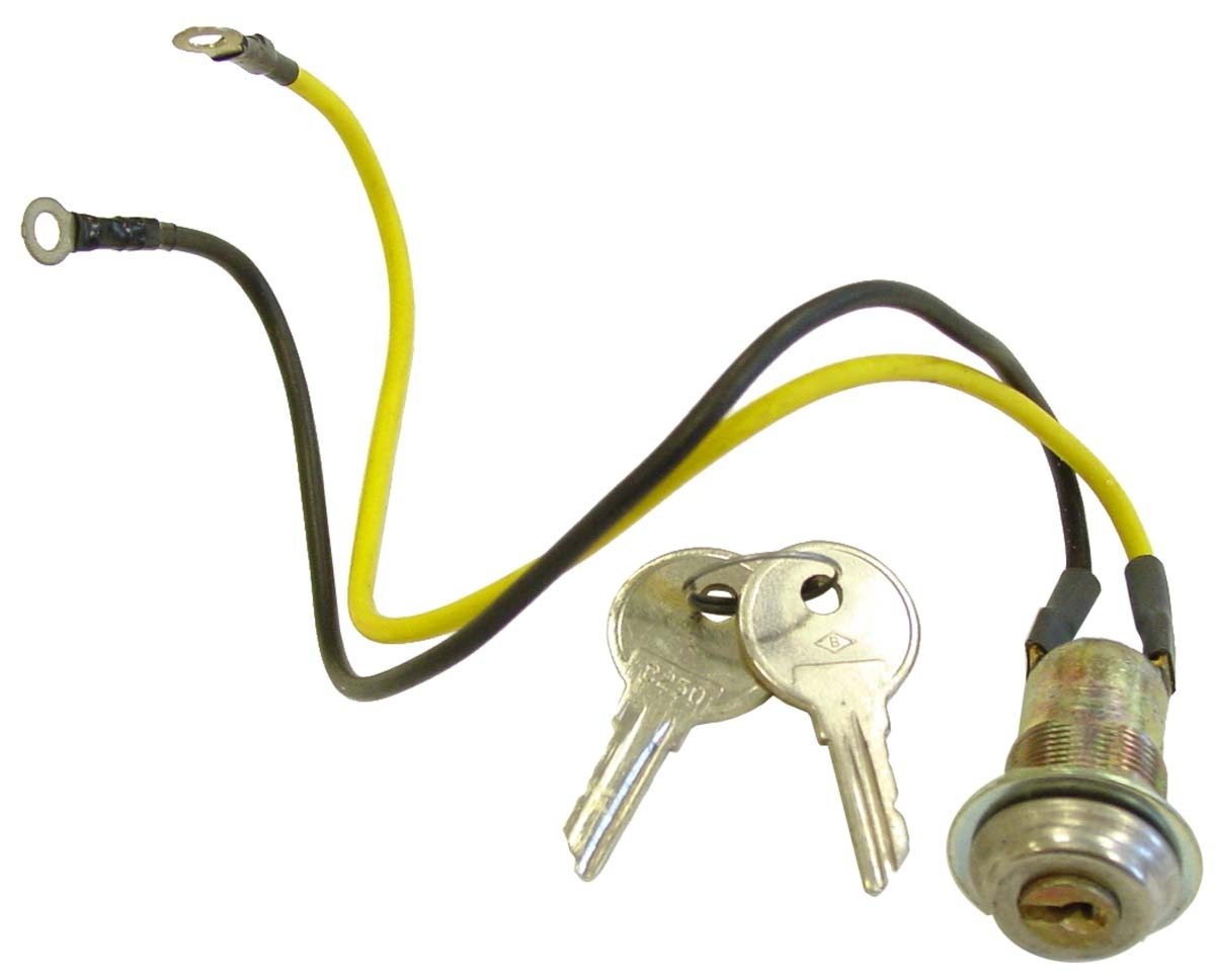 2-WIRE KEY SWITCH WITH 2 KEYS