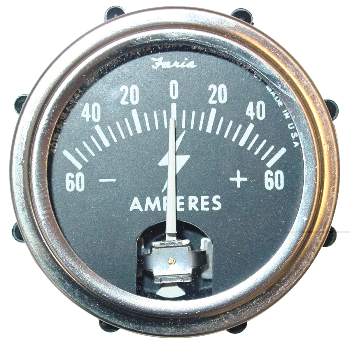 ammeter amp gauge 60 0 60 case ih parts case ih. Black Bedroom Furniture Sets. Home Design Ideas