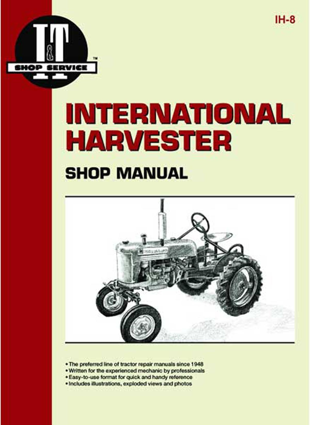 I & T SHOP SERVICE MANUAL - Farmall A, B, C, MTA,
