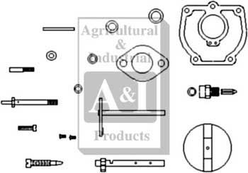 Carburetor Kit, Complete (IH) Viton