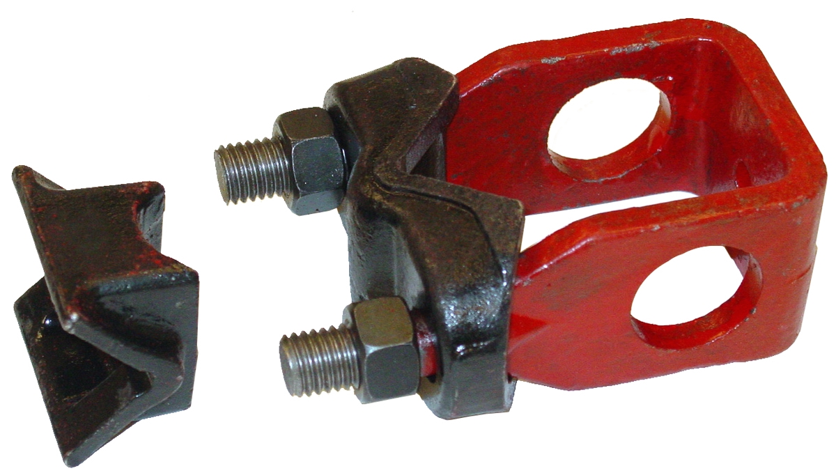 LAY OFF CLAMP & WEDGE ASSEMBLY