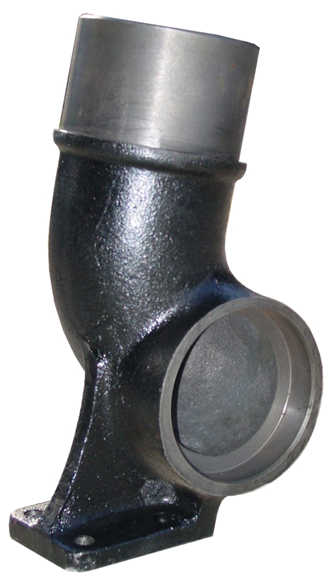 NEW Exhaust Elbow for Case International Tractor 1466 1566 4166 4186 4366 4386