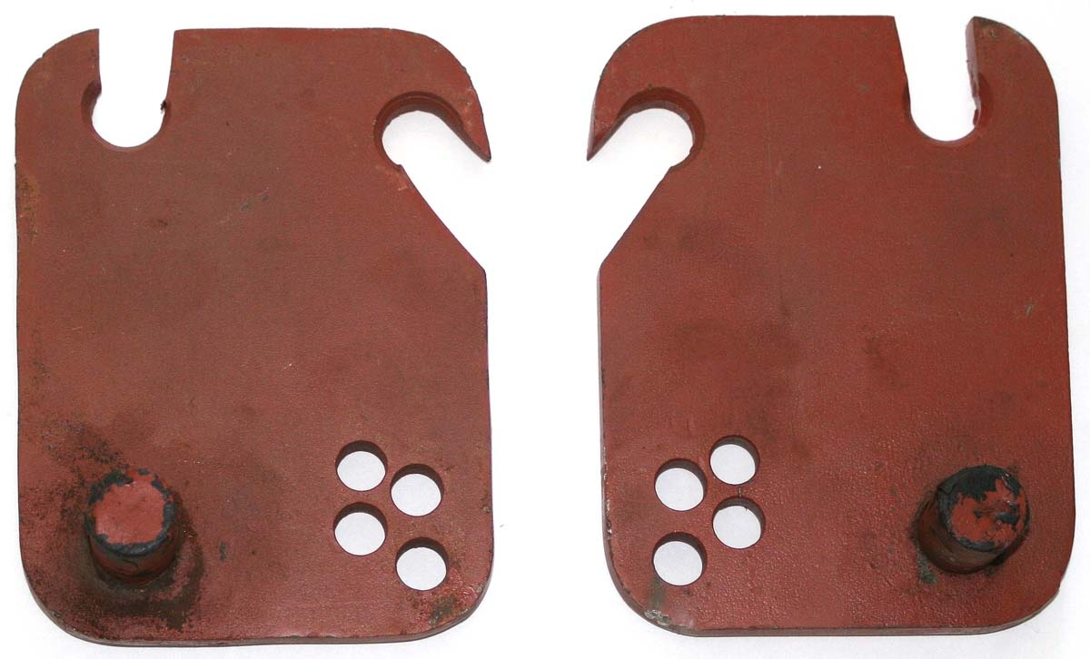 DRAWBAR END BRACKETS