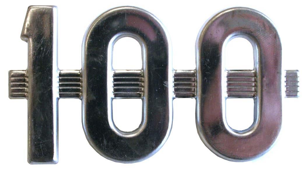 SIDE EMBLEM 100