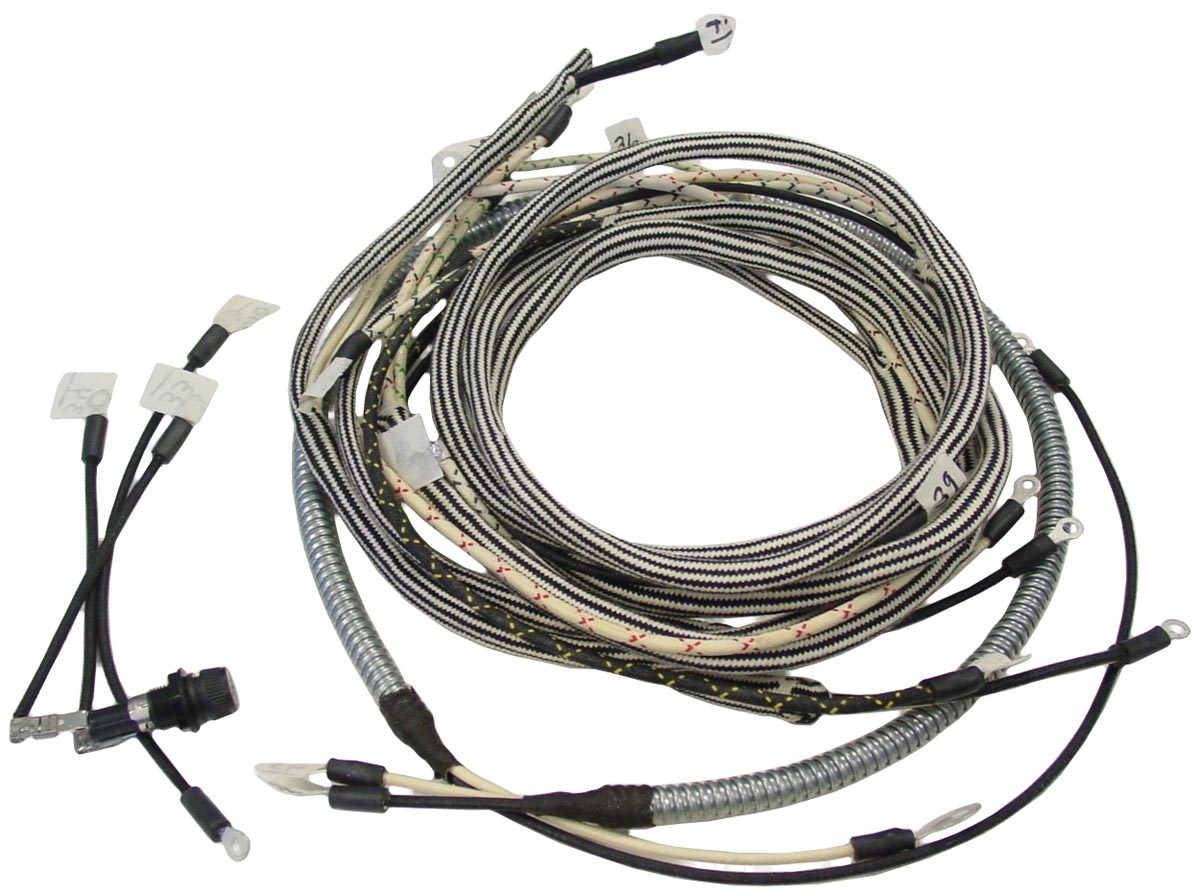 Wiring Harness Case Ih Parts Tractor For The M Ta Super Model Tractors