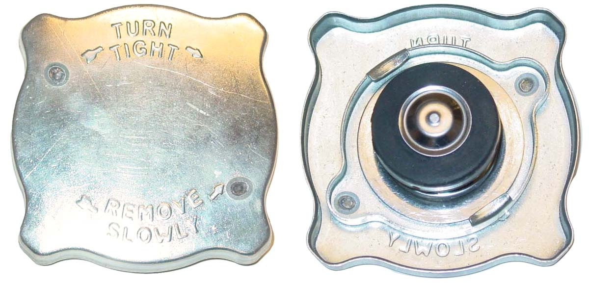 PRESSURIZED RADIATOR CAP