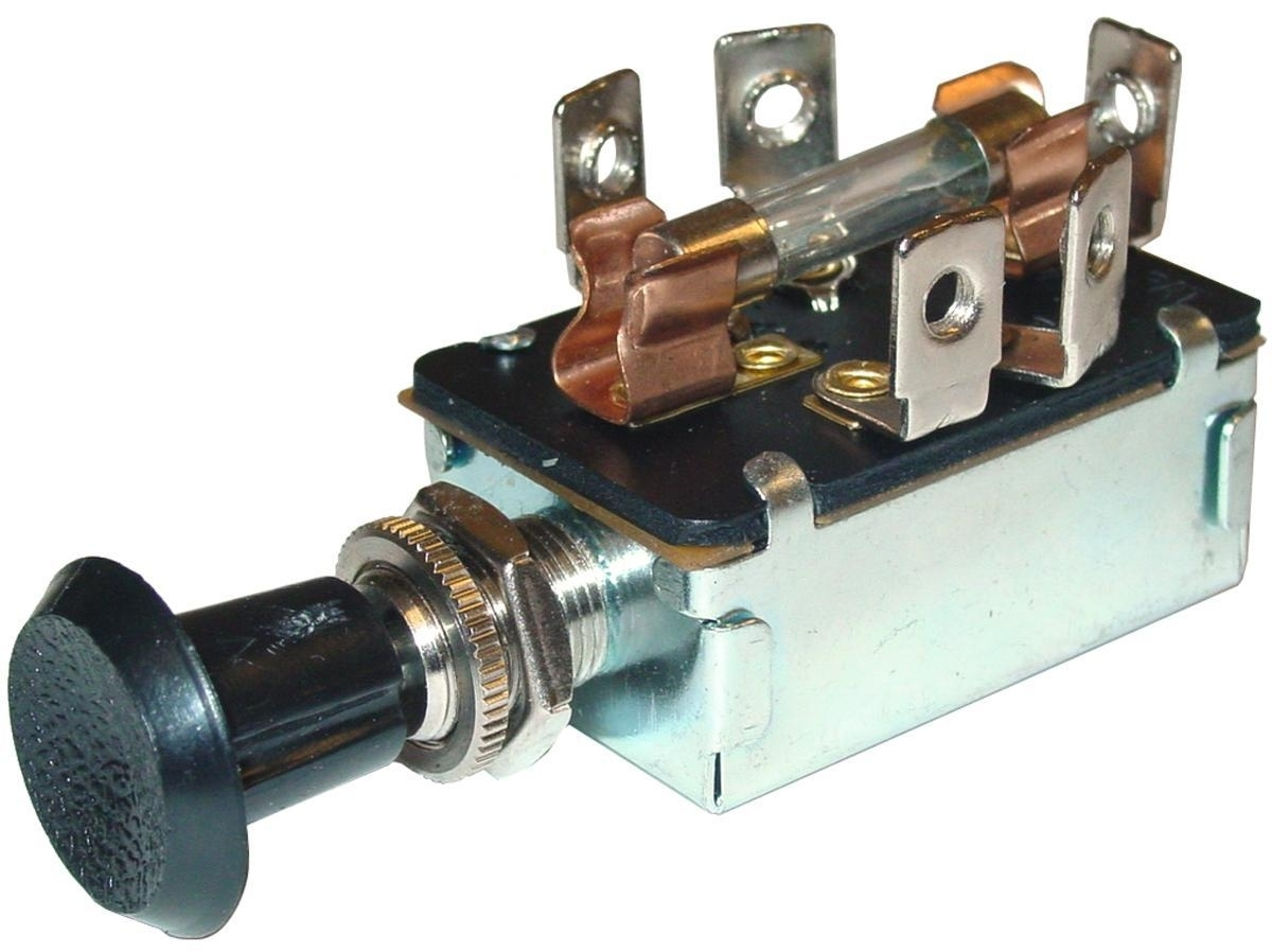 3-POSITION FUSED SWITCH