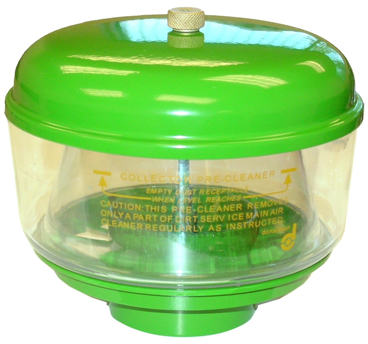 PRECLEANER KIT: LID W/NUT, PLASTIC BOWL, & METAL BASE