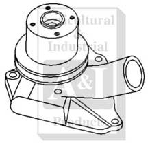 Re-Mfg Water Pump w/ Pulley (R&R Only)