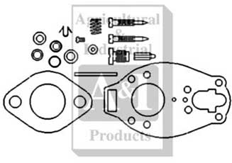 Carburetor Kit, Basic (Marvel-Schebler)