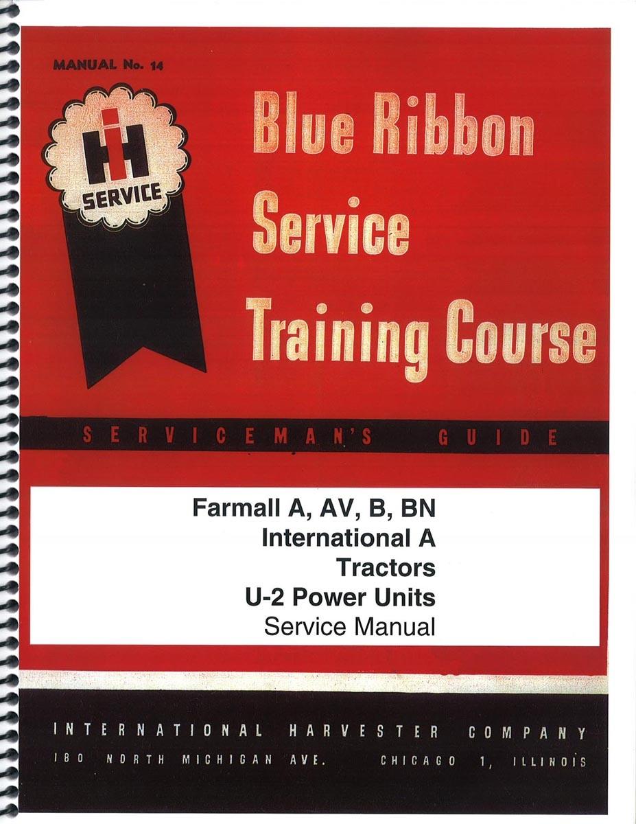 IH BLUE RIBBON SERVICE MANUAL