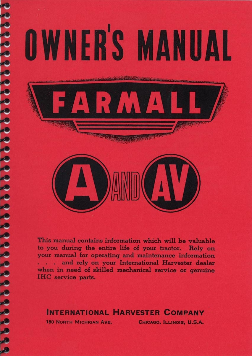 OWNERS MANUAL