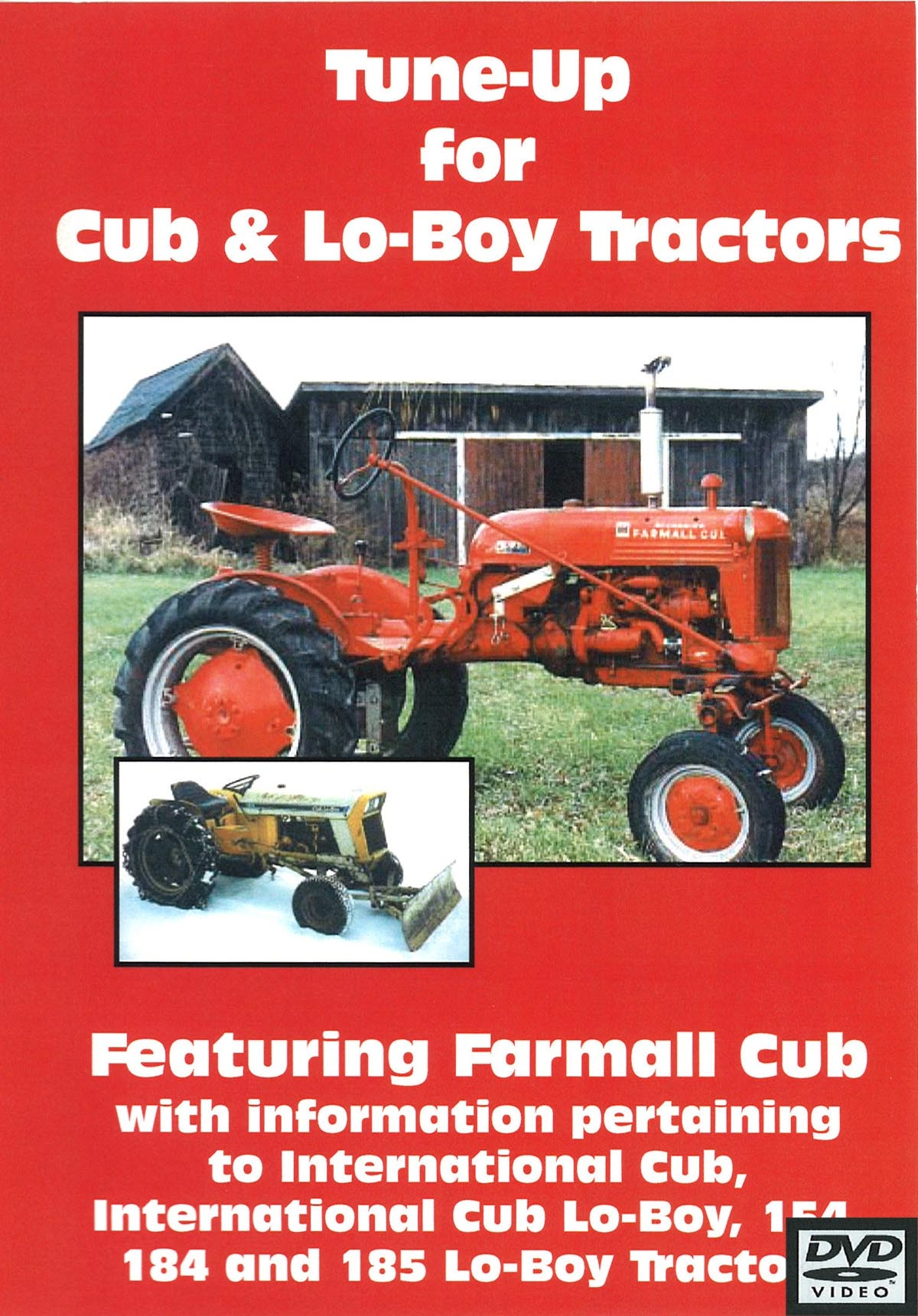 CUB & CUB LO-BOY TUNE UP VIDEO (DVD)