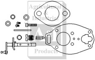 Carburetor Kit, Basic (IH)