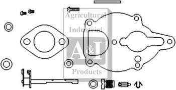 Carburetor Kit, Basic (Zenith) Viton