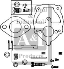Carburetor Kit, Complete (Zenith) Viton