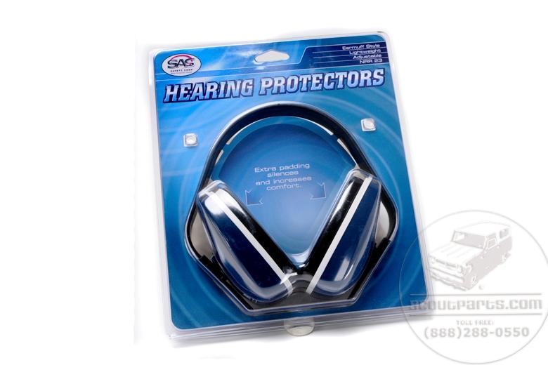 Earmuff Style Hearing Protectors