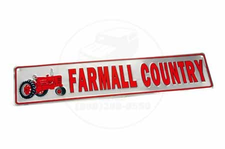 Farmall Country Metal Sign
