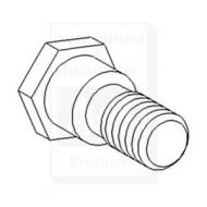 Bolt, Shoulder - Sold in package of 10 only