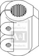 Coupling, 4WD Transfer Gearbox, 21 Spline, APL330