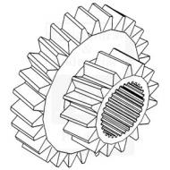Gear, Sliding Gear Cluster, 1st & 3rd