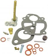 BASIC CARBURETOR REPAIR KIT (ZENITH)  MAKE SURE THAT YOUR CARBURETOR MANUFACTURER NUMBER IS IN THE LIST THIS FITS!!!!!KIT CONTAINS: THROTTLE SHAFT, NEEDLE & SEAT, FLOAT LEVER PIN, CHOKE & THROTTLE SHAFT SEALS, NEEDLE VALVE, ADJUSTMENT SCREW, GASKETS & INSTRUCTIONS.  Carburetor Manufacturer #: 10514A  International Applications: A, B, BN, SUPER A, AV