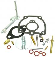 """COMPLETE CARBURETOR REPAIR KIT   KIT CONTAINS: CHOKE & THROTTLE SHAFTS, NEEDLE & SEAT VALVE, FLOAT LEVER PIN, MISCELLANEOUS PLUGS & SCREWS, THROTTLE SHAFT SEALS & GASKETS FITS LISTED CARB WITH THROTTLE BODY: 6513DX SHAFT LENGTH = 3.180\"""" -- CHOKE AND THROTTLE SHAFT GASKETS, NEEDLE VAL   Carburetor Manufacturer #: 50983DB   International Applications: M, MV, 6 SERIES"""