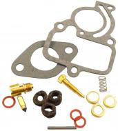 ECONOMY CARBURETOR REPAIR KIT (IH CARB)   MAKE SURE THAT YOUR CARBURETOR MANUFACTURER NUMBER IS IN THE LIST THIS FITS!!!!! CONTAINS: NEEDLE & SEAT, FLOAT LEVER PIN, CHOKE & THROTTLE, SHAFT SEALS, NEEDLE VALVE, GASKETS & INSTRUCTIONS.   Carburetor Manufacturer #: 63349C91, 251234R94, 364579R91, 405004R91   International Applications: CUB, EARLY CUB LOBOY 154