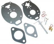 BASIC CARBURETOR REPAIR KIT (MARVEL SCHEBLER)   MAKE SURE THAT YOUR CARBURETOR MANUFACTURER NUMBER IS IN THE LIST THIS FITS!!!!! KIT CONTAINS: THROTTLE SHAFT, NEEDLE & SEAT, FLOAT LEVER PIN, CHOKE & THROTTLE SHAFT SEALS, NEEDLE VALVE, ADJUSTMENT SCREW, GASKETS & INSTRUCTIONS.   Carburetor Manufacturer #: TSX939, TSX984SL, TSX985SL   International Applications: 454, 464, 574, 674, 2400A, 2400B, 2500A, 2500B