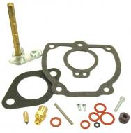BASIC CARBURETOR REPAIR KIT (IH)  MAKE SURE THAT YOUR CARBURETOR MANUFACTURER NUMBER IS IN THE LIST THIS FITS!!!!! KIT CONTAINS: THROTTLE SHAFT, NEEDLE & SEAT, FLOAT LEVER PIN, CHOKE & THROTTLE SHAFT SEALS, NEEDLE VALVE, ADJUSTMENT SCREW, GASKETS & INSTRUCTIONS.  Carburetor Manufacturer #: 381984R91  International Applications: 560
