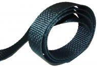 """FUEL TANK WEBBING   SOLD 3 FT AT A TIME   BLACK WOVEN   NYLON TYPE MATERIAL   .042 THICK an 1\"""" wide.  International Applications: IH MODELS"""