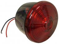 """ROUND RED TAIL LIGHT ASSY W/ LICENSE LAMP WINDOW  4-1/2"""" DIAMETER, 2-1/4"""" DIAMETER STUD  International Applications: SERVICEABLE FOR: CUB, 100, 130, 140, 154, 184, 185, 240, 340, 404, 424, 454, 460, 504, 544, 574, 606, 656, 706, 756, 806, 856, 1206, 1256, CUB CADETS: 70, 71, 72, 100, 102, 122, 123, INDUSTRIAL: 2404, 2424, 2504, 2544, 2656, 2706, 2756, 2806, 2856,  Replacement Part #: IH: 376850R91, 45645HA, 370716R91, 379789R91, 370306R91, 404418R1, 967696R92, 121846C91"""