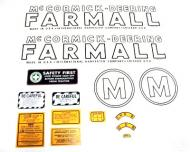 MYLAR DECAL SET  SPECIAL ORDER ONLY. ALLOW ONE ADDITIONAL WEEK FOR DELIVERY CAUTION: INSPECT ALL DECAL PIECES BEFORE APPLYING TO TRACTOR. NO REFUNDS ON MYLAR DECALS IF APPLIED TO SURFACE AND / OR IF DAMAGED. NO REFUNDS ON VINYL CUT DECALS. STORE IN A COOL, DRY PLACE. D  International Applications: MCCORMICK-DEERING (1939 - 1944) M