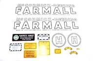 MYLAR DECAL SET  SPECIAL ORDER ONLY. ALLOW ONE ADDITIONAL WEEK FOR DELIVERY CAUTION: INSPECT ALL DECAL PIECES BEFORE APPLYING TO TRACTOR. NO REFUNDS ON MYLAR DECALS IF APPLIED TO SURFACE AND / OR IF DAMAGED. NO REFUNDS ON VINYL CUT DECALS. STORE IN A COOL, DRY PLACE. D  International Applications: MCCORMICK-DEERING (1939-1944) H