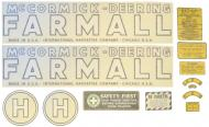 VINYL DECAL  SPECIAL ORDER ONLY. ALLOW ONE ADDITIONAL WEEK FOR DELIVERY CAUTION: INSPECT ALL DECAL PIECES BEFORE APPLYING TO TRACTOR. NO REFUNDS ON MYLAR DECALS IF APPLIED TO SURFACE AND / OR IF DAMAGED. NO REFUNDS ON VINYL CUT DECALS. STORE IN A COOL, DRY PLACE. D  International Applications: MCCORMICK DEERING H (1939-1944)