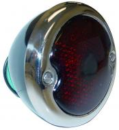 COMPLETE SERVICEABLE TAIL LIGHT ASSEMBLY  INCLUDES 12-VOLT BULB & MOUNTING BOLTS  PAINTED BLACK  SOLID BUCKET  International Applications: CUB LOBOY (SN 10001 & UP), 140, 154, 240, 340, 404, F856, LAWN & GARDEN: CUB CADET (UP TO SN 400000), 70, 71, 72, 102, 122, 123  Replacement Part #: IH 370306R91, 370716R91, 371368R91, 376850R91