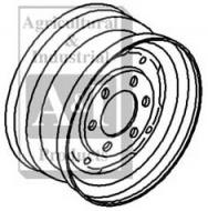 """Rim, Front Wheel 4.5"""" X 16""""  Please check and measure your tractor closely because if this rim does not fit, we do not pay return shipping on rims."""