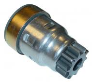 STARTER DRIVE (BENDIX)  10 TEETH  IMPROVED POSITIVE RATCHET STYLE DRIVE  International Applications: A, AV, B, BN, SUPER A, C, SUPER C, H, HV, M, MV, SUPER M, MTA, W4, SUPER W4, W6, SUPER W6, O4, O6, T6, 100, 130, SOME 140'S, 200, 240, 300, 330, 340, 350, 400, 450 (ALL GAS) SERVICES DELCO STARTERS #1107021, 1107060, 1107067, 1107093, 1107169, 1107174, 11  Replacement Part #: IH: 1868804