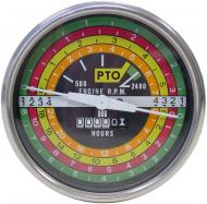 BLACK FACE TACHOMETER  BLACK BACKGROUND WITH WHITE LETTERING  NOTE: THE ONLY DIFFERENCE BETWEEN THE IHS175B AND THE IHS175W IS THE COLOR OF THE FACE PLATE, I.E. THESE TWO TACHS ARE INTERCHANGEABLE. BOTH TACHS ALSO INTERCHANGE WITH IHS765.  International Applications: 706, 806, 1206, 2706, 2806, 21206  Replacement Part #: 388588R91, 388589R91, & #66748C1