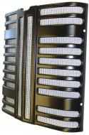 FRONT RADIATOR GRILLE INSERT   STEEL COMPLETE WITH SCREEN   USA MADE   International Applications: 100, 130, 200, 230   Replacement Part #: 362592R11